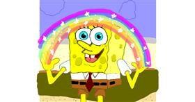 Spongebob drawing by Geo-Pebbles
