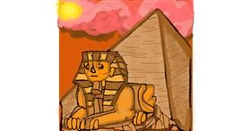 Sphinx drawing by SIREN
