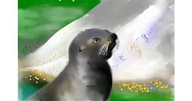Seal drawing by Rak