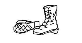 Boots drawing by dumdum