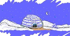 Drawing of Igloo by Amy <3