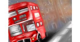 Drawing of Bus by Wizard