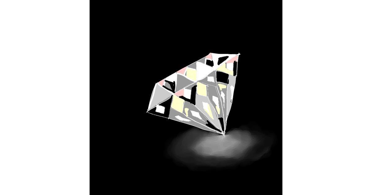 Drawing of Diamond by Alex Berrhto