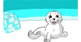 Seal drawing by Kokos