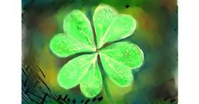 Clover drawing by luis