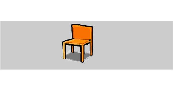 Chair drawing by Drum