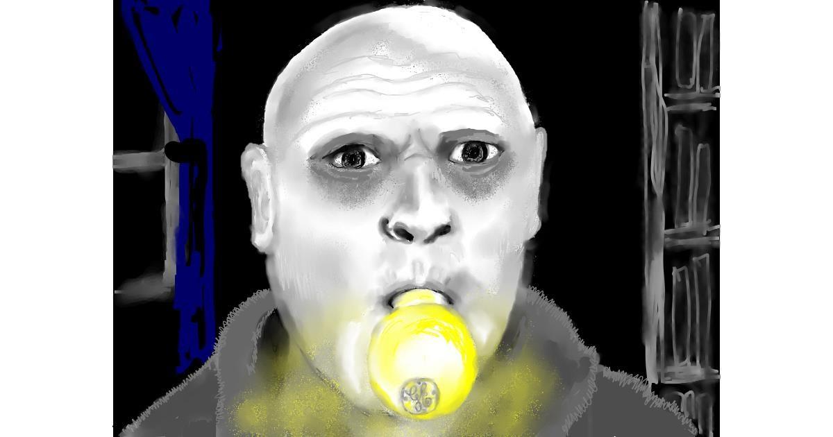 Light bulb drawing by SAM 🙄