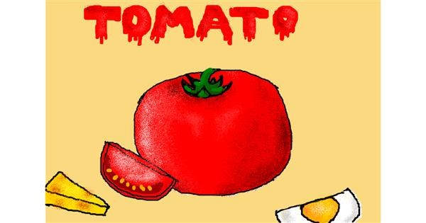Tomato drawing by christine