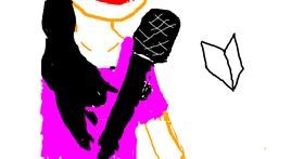 Microphone drawing by alexis