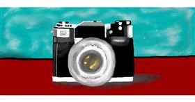 Drawing of Camera by Debidolittle