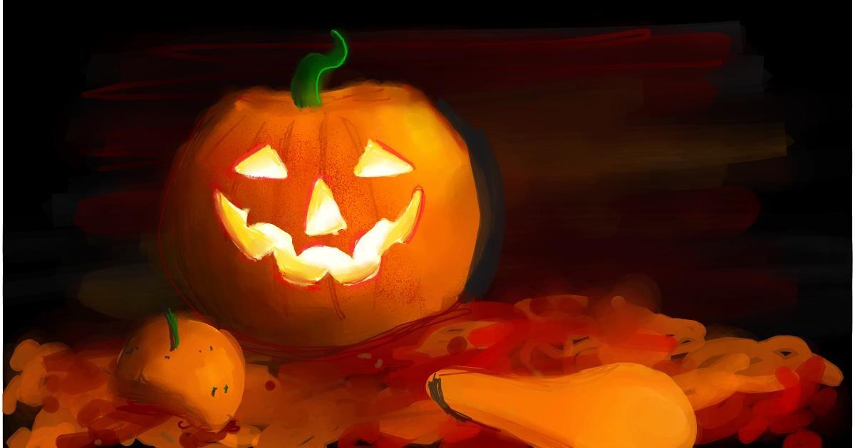 Drawing of Pumpkin by Ryu