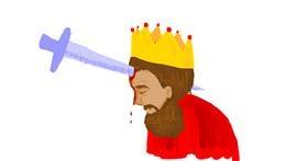 King drawing by kossara