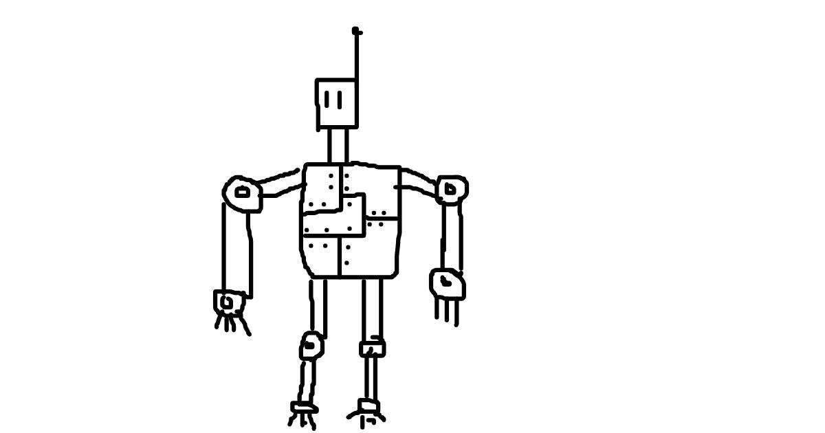 Drawing of Robot by drank%20drank
