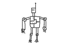 Robot drawing by drank%20drank