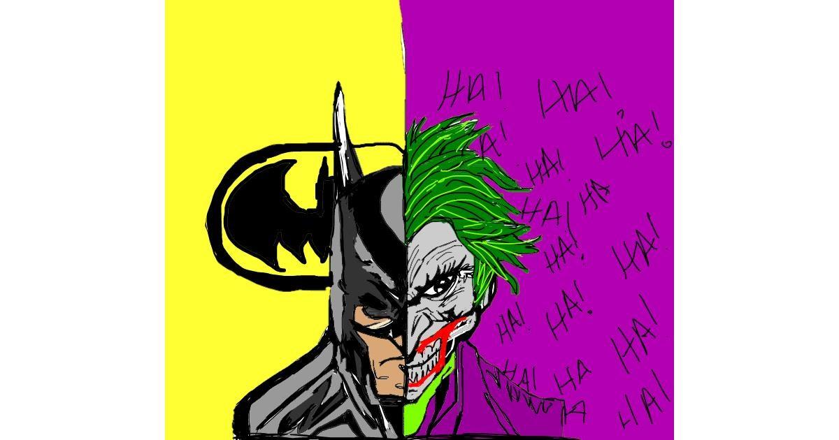 Batman drawing by Bri