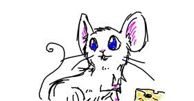 Drawing of Mouse by Ang