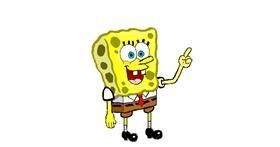 Spongebob drawing by coconut