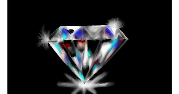 Diamond drawing by SAM 🙄AKA Margaret
