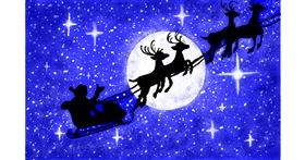 Sleigh drawing by GJP