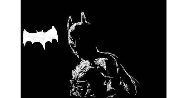 Batman drawing by wesley