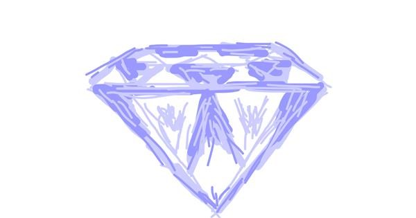 Diamond drawing by Firsttry