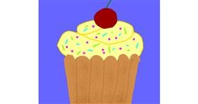 Muffin drawing by Leni