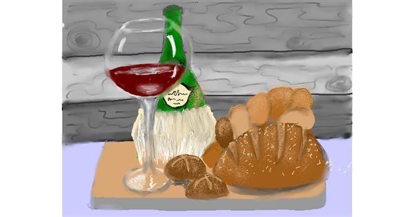 Bread drawing by SAM 🙄AKA Margaret