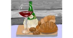 Drawing of Bread by SAM AKA MARGARET 🙄