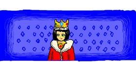 King drawing by SANTA