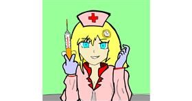 Drawing of Nurse by チョコせんせい
