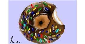 Donut drawing by (luna lovegood)