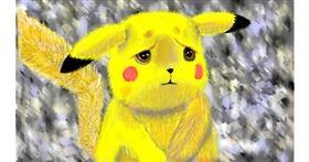 Drawing of Pikachu by SAM AKA MARGARET 🙄