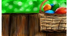 Easter egg drawing by Soaring Sunshine