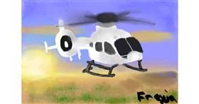Helicopter drawing by jess