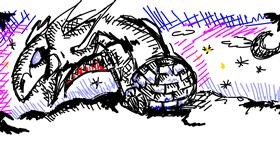 Igloo drawing by Sheryl3