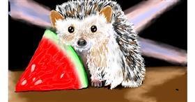 Hedgehog drawing by SAM AKA MARGARET 🙄