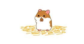 Hamster drawing by Otter