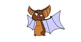Bat drawing by Tobertus