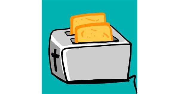 Toaster drawing by MaRi