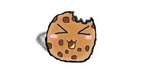 Cookie drawing by coconut