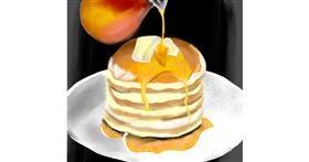 Pancakes drawing by Yashi 🐢