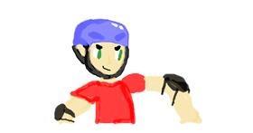 Helmet drawing by Emmaisnotintresetedand