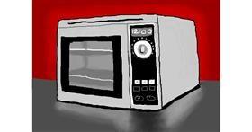 Microwave drawing by Debidolittle