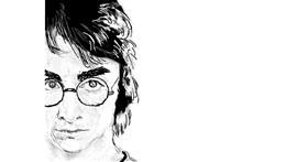 Drawing of Harry Potter by teidolo