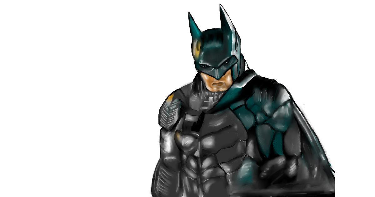Batman drawing by Jan