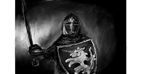 Knight drawing by Soaring Sunshine