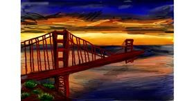 Bridge drawing by Soaring Sunshine