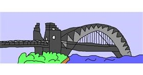Bridge drawing by Pri