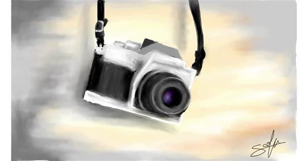 Camera drawing by Sophie_draw24