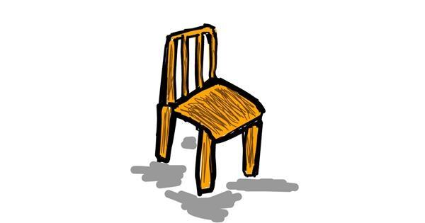 Chair drawing by monisha
